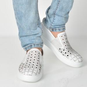 Pantofi Gryxx Albi, 13402, Din Piele Naturala