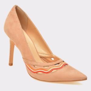 Pantofi Epica Nude, 4840102, Din Nabuc