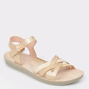 Sandale IMAGE aurii, 2237L26, din piele ecologica