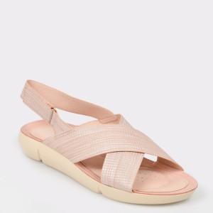 Sandale IMAGE nude, 830301, din piele ecologica