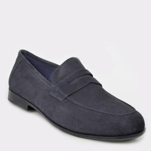 Pantofi STONEFLY bleumarin, Sumii11, din piele intoarsa
