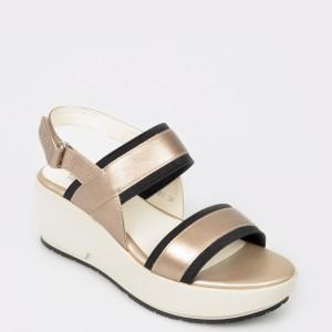 Sandale STONEFLY bej, Ketty10, din piele naturala