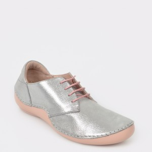 Pantofi FLAVIA PASSINI argintii, 1505, din piele naturala