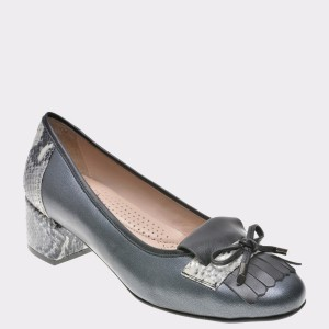 Pantofi FLAVIA PASSINI gri, 578, din piele naturala