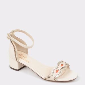 Sandale FLAVIA PASSINI bej, 810, din piele naturala