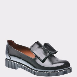 Pantofi FLAVIA PASSINI negri, Rn804, din piele naturala lacuita