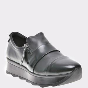 Pantofi FLAVIA PASSINI negri, Elagox, din piele naturala