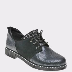 Pantofi Flavia Passini Bleumarin, Ak1045, Din Piele Naturala
