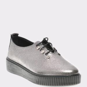 Pantofi FLAVIA PASSINI gri, Cz251, din piele naturala