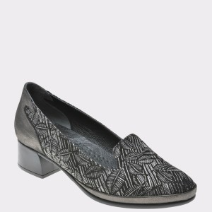 Pantofi FLAVIA PASSINI gri, Mn123, din piele naturala