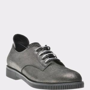 Pantofi FLAVIA PASSINI gri, Vr122, din piele naturala