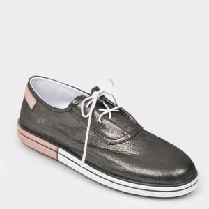 Pantofi FLAVIA PASSINI negri, Cb9810, din piele naturala