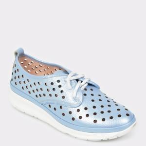 Pantofi FLAVIA PASSINI albastri, Rs49, din piele naturala