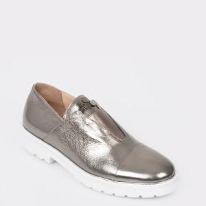 Pantofi FLAVIA PASSINI gri, Sm2434, din piele naturala
