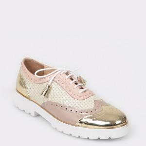 Pantofi FLAVIA PASSINI roz, Sm2235, din piele naturala