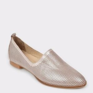Pantofi FLAVIA PASSINI nude, Dl639, din piele naturala