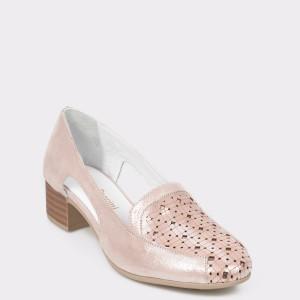 Pantofi FLAVIA PASSINI nude, Pd082, din piele naturala