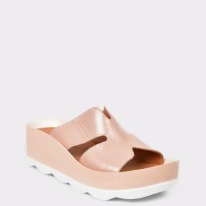 Papuci FLAVIA PASSINI roz, 1, din piele naturala