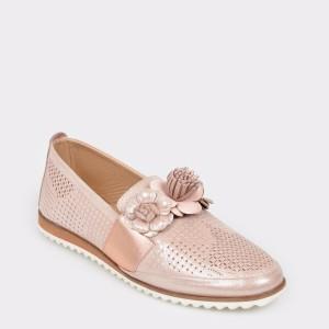 Pantofi FLAVIA PASSINI nude, Vv600, din piele naturala