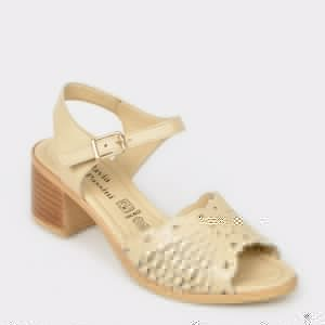Sandale FLAVIA PASSINI bej, 9255, din piele naturala