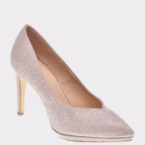 Pantofi MENBUR nude, 98570, din piele ecologica