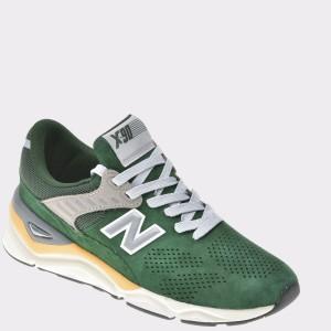 Pantofi sport NEW BALANCE verzi, Msx90, din piele intoarsa