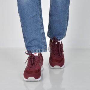 Pantofi sport NEW BALANCE visinii, Ml574, din piele intoarsa
