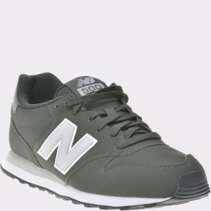 Pantofi sport NEW BALANCE kaki, Gm500, din piele ecologica