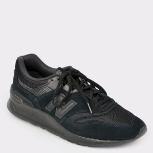 Pantofi sport NEW BALANCE negri, Cm997, din material textil