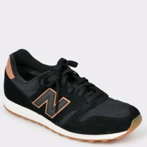 Pantofi sport NEW BALANCE negri, Ml373, din material textil