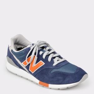 Pantofi sport NEW BALANCE albastri, Mrl996, din material textil