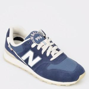 Pantofi sport NEW BALANCE albastri, Wr996, din material textil