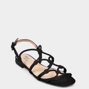 Sandale FLAVIA PASSINI negre, 6589762, din nabuc