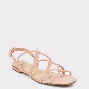 Sandale FLAVIA PASSINI nude, 6589762, din nabuc