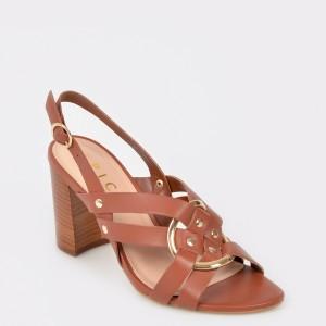 Sandale EPICA maro, 74541, din piele naturala