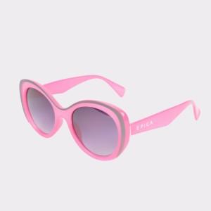 Ochelari de soare EPICA roz, 328353, din PVC