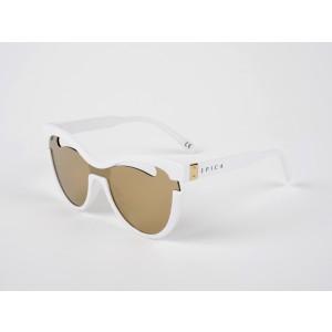 Ochelari de soare EPICA albi , 1806008, din PVC