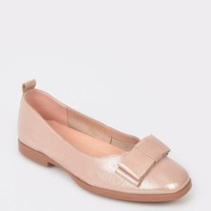 Pantofi IMAGE nude, 7162301, din piele naturala