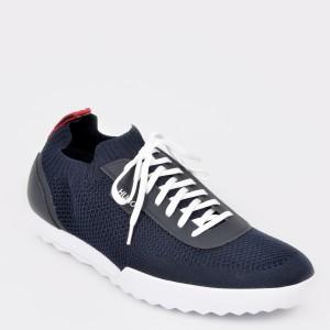 Pantofi HUGO BOSS bleumarin, 7643, din material textil