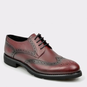 Pantofi OTTER visinii, 495, din piele naturala