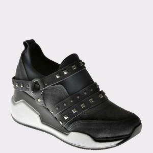 Pantofi FLAVIA PASSINI gri, C21552, din piele intoarsa