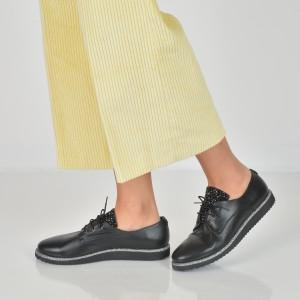 Pantofi FLAVIA PASSINI negri, 134202, din piele naturala