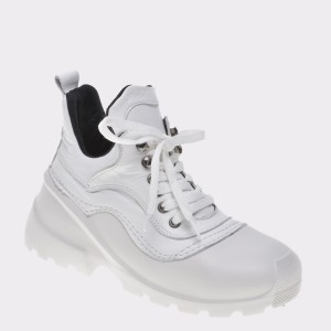 Pantofi FLAVIA PASSINI albi, 6829601, din piele naturala
