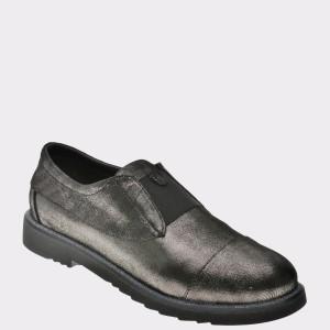 Pantofi Flavia Passini Gri, 3295807, Din Piele Naturala