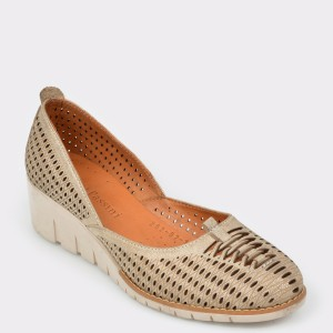 Pantofi FLAVIA PASSINI bej, 2620310, din piele naturala
