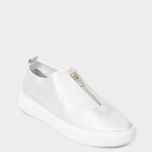 Pantofi FLAVIA PASSINI albi, 4251001, din piele naturala
