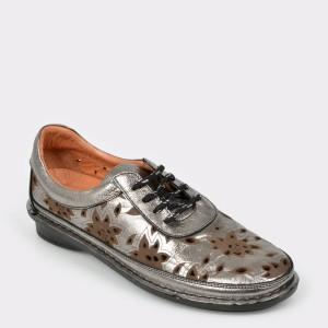 Pantofi FLAVIA PASSINI argintii, 3394017, din piele naturala