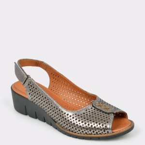 Sandale FLAVIA PASSINI gri, 2620318, din piele naturala