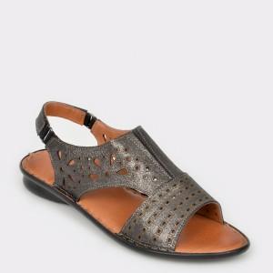 Sandale FLAVIA PASSINI gri, 71301, din piele naturala