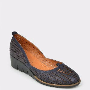 Pantofi FLAVIA PASSINI bleumarin, 2620310, din piele naturala